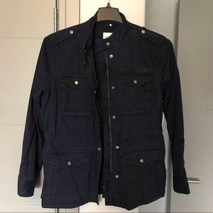 NWT Gap Navy Blue Uniform Utility Jacket